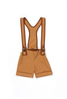 AlbaBabY Shorts Clyde Belt Crawlers brown