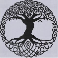 Mother Bee Designs: Celtic Tree