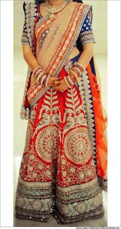 Band Baaja Bride With Sabyasachi Bridal Sarees, lehenga Collections