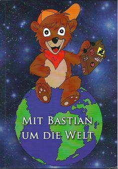 Bilderbuch Cover Bastian Bär, picture book, illustration, cartoon