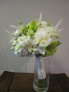 Green and White Bouquet by BranchingOutCo, via Flickr