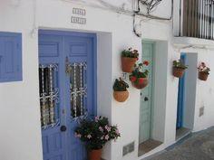 blue doors #spain