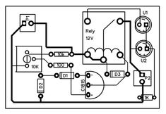 Electronics circuit Automatic Charger (Auto Cut OFF) : 3 Steps (with Pictures) - Instructables V Battery Charger Circuit, Automatic Battery Charger, Componentes Smd, Garage Workbench Plans, Electronic Circuit Design, Electrical Circuit Diagram, Power Supply Circuit, Simple Circuit, Electronic Schematics