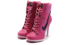 Dunk High Heels High Black Pink For Women