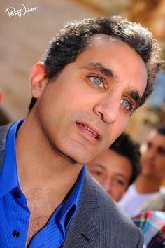 Dr. Bassem Youssef ~ Brilliant, funny, courageous...an important voice.