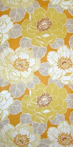 Symphony   Flower Wallpaper   Vintage Wallpaper   Johnny-Tapete