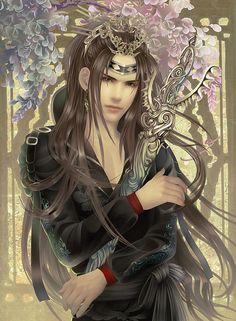 Bishounen swordsman
