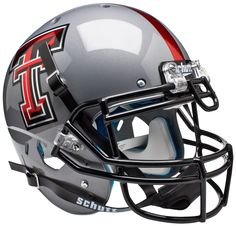 Old Ghost Collectibles - Texas Tech Red Raiders NCAA Schutt XP Gray Full Size Authentic Football Helmet, $168.99 (http://www.oldghostcollectibles.com/texas-tech-red-raiders-schutt-full-size-authentic-grey-xp-football-helmet/?page_context=category