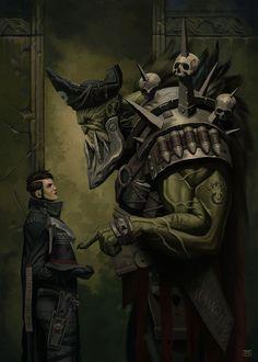 Warhammer 40000,warhammer40000, warhammer40k, warhammer 40k, ваха, сорокотысячник,wh песочница,фэндомы,Inquisition,Imperium,Orks