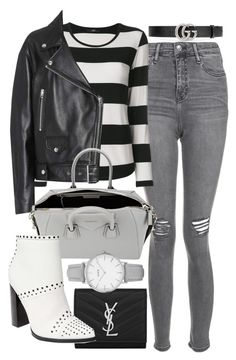 Untitled #22276 by florencia95 on Polyvore featuring Steffen Schraut, Acne Studios, Topshop, Steve Madden, Givenchy, Yves Saint Laurent and Gucci