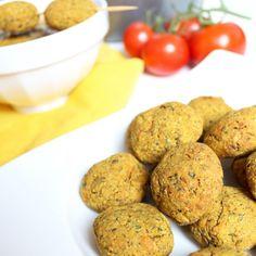Vegane Falafel aus dem Ofen BOOMSHALALAA.COM