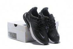 best sneakers de28b 00466 Nike Air Max 270 Leather Men s Running Shoes Black White  runningshoes  Pantalones De Traje