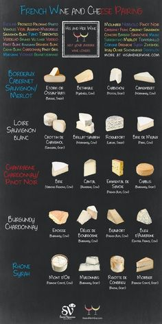Infographic: French Wine & Cheese Pairing - Social Vignerons | The fisheye of gourmet food & wine! | Scoop.it
