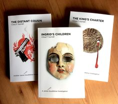 Three crime thrillers about a narcoleptic detective. Author: Clive F Sorrell