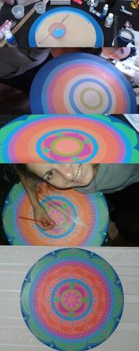 Mandala , colores ! ♥