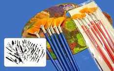 Taller Lash: Para comenzar a pintar ¿que pinceles comprar'? Tableware, Shopping, Atelier, Cleaning, Dinnerware, Tablewares, Dishes, Place Settings