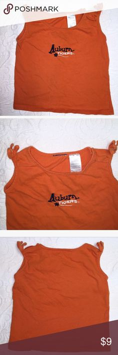 2T Auburn Tiger Tank 🐯 For your little Auburn Tiger... Just in time for football season! Great condition. Smoke free home. 🔴BUNDLE&SAVE🔴 Purchase 3+ items and receive a 25% discount. If you're looking for anything specific, please feel free to ask! I have lots that needs to be uploaded, and there's a good chance I may have just what you need 😊 Shirts & Tops Tank Tops