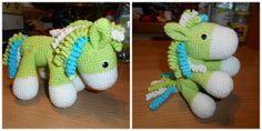 Háčkování pro zábavu - Návody - Koník/poník Minis, Dinosaur Stuffed Animal, Toys, Relax, Baby, Key Fobs, Amigurumi, Activity Toys, Clearance Toys