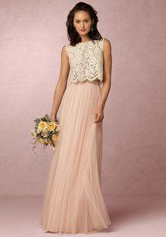 BHLDN (Bridesmaids) Cleo Top-Ivory Bridesmaid Dress photo