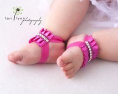 Marilyn  Baby Sandals  Rhinestone Baby Shoes  by StellasDesign, $24.00