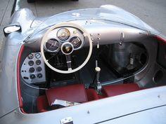 Your daily car fix: Porsche 550 Spyder James Dean Porsche 550, Porsche 356 Speedster, Porsche Cars, Porsche Build, Custom Porsche, Old Sports Cars, Vintage Sports Cars, Retro Cars, Sport Cars