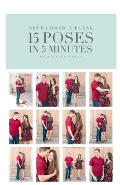 15 Poses in 5 Minutes | Katelyn James Education | Online Resources for Photographers