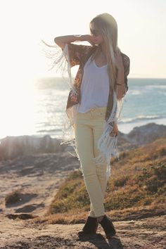 Yellow pants | Late Afternoon