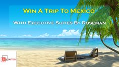 You should enter WIN an All-inclusive Trip For Two to Mexico! There are great prizes and I think one of us could win *Daily Entry* Oh The Places You'll Go, Places To Visit, Visit Barbados, Canadian Contests, All Inclusive Trips, Free Sweepstakes, Dream Vacation Spots, Win A Trip, Enter To Win