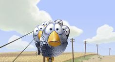 For the Birds, Pixar, Blue Birds