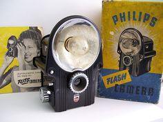 Philips Box Flash bakelite camera