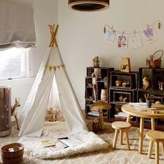 Создаём уют в детской: шалаш - The Pled
