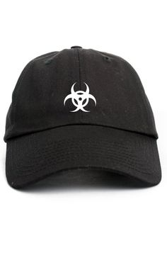 Bio Hazard Custom Dad Hat Adjustable Baseball Cap Choose Your Color! Free Shipping!