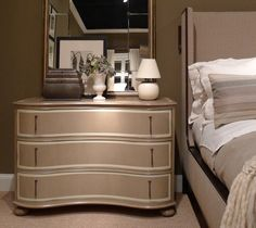 Hickory Chair's new Sabine Dresser is stunning!