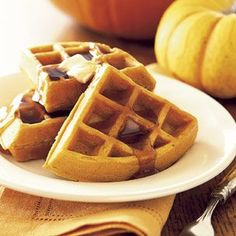 Pumpkin Pie Waffles