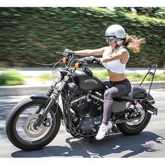 Had so much fun doing a shoot today! Thanks @Burly Brand #girlswhoride…