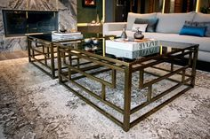 four&more projects, interior design, home decor, living room, coffee tables, brasss