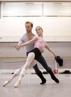 Sarah Lamb and Steven McRae - Ballet, балет, Ballett, Bailarina, Ballerina, Балерина, Ballarina, Dancer, Dance, Danse, Danza, Танцуйте, Dancing, Russian Ballet