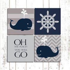 Whale Theme Nursery