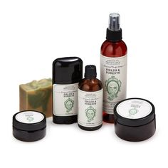 This line of masculine grooming products has an old-fashioned, outdoorsy essence.