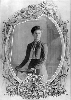 Prince Alice of Albany, daughter of Prince Leopold, Duke of Albany seen in 1904, the year of her marriage to Prince Alexander of Teck (later the Earl of Athlone).