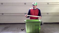 In this video Clint teaches you how to make a self watering container for under $10. All it takes is a rubbermaid tub and a little work.
