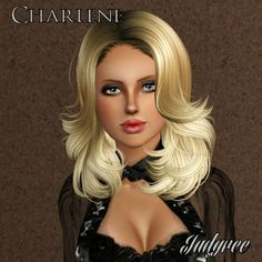 Charlene Nicholson - Female Sims Model by Judyree at BTB Sims - Sims 3 Finds