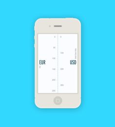 The Converted Mobile Currency Conversion App UI #mobile #app #ui