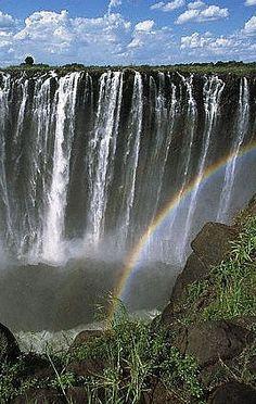 Raimbow over Vitoria falls