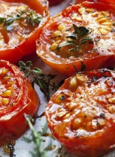 Balsamic Roasted Tomatoes | Yummy Recipes