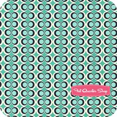 Carnaby Street Mint Retro Pop Yardage SKU# CST-3210 - Fat Quarter Shop