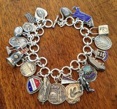 Vintage Charm Bracelet Collection - Massachusetts Vintage Charm Bracelet