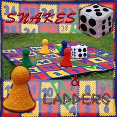Crocheting Games : ... Crochet Games on Pinterest Crochet, Game and Checkers board game