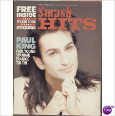 SMASH HITS MUSIC MAGAZINE 14TH MAR 1985 PAUL KING