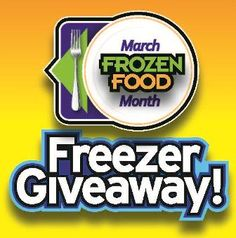 Today is your LAST chance to enter to WIN a Hussmann® 6.73 cu. ft. glass top FREEZER for March Frozen Food Month!!